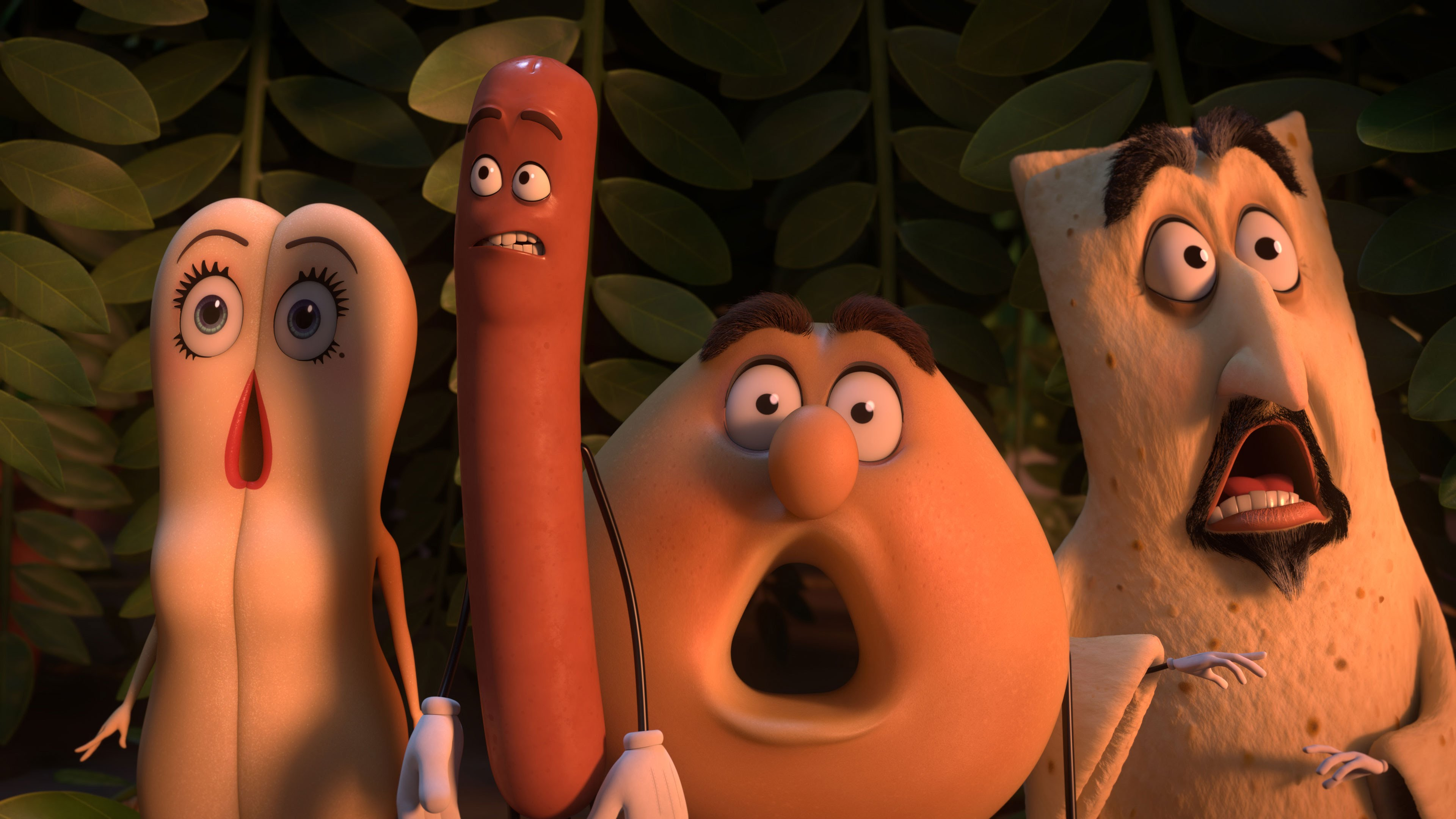 two movie reviews: horny hotdog questions the meaning of life and