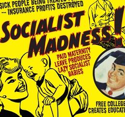 Words Socialist Madness