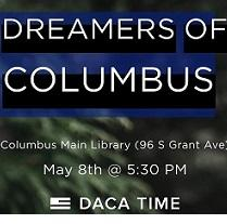 Words Dreamers of Columbus and details of event