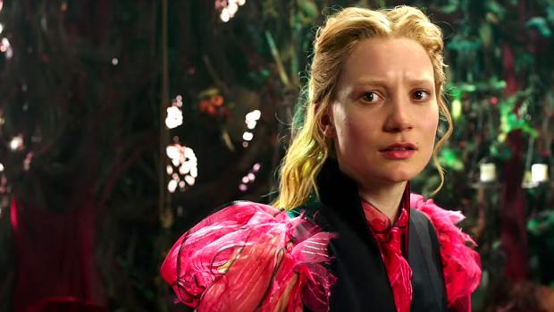 Mia Wasikowska as Alice in Alice Through the Looking Glass