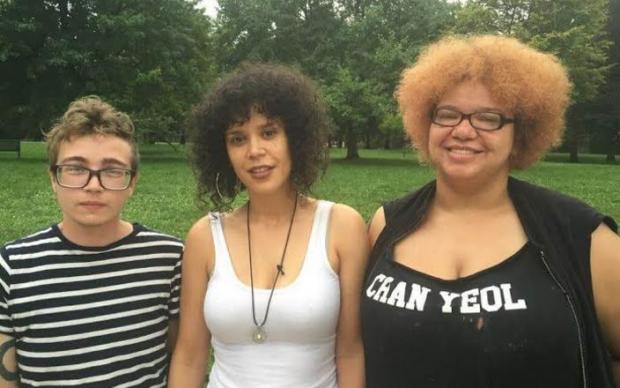 Three activists