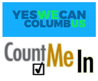 yes we can/count me in logo