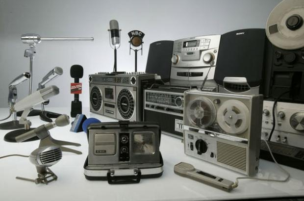 Old recording equipment