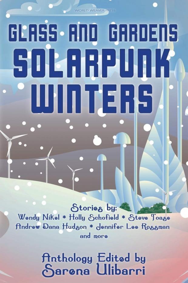 Book cover of Solarpunk Winters