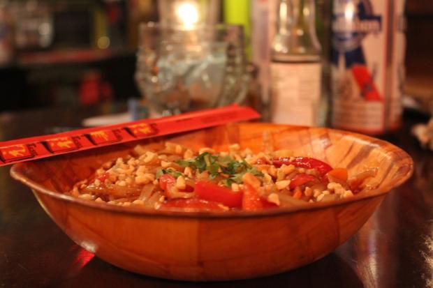 Spicy Peanut Pasta (vegan style)