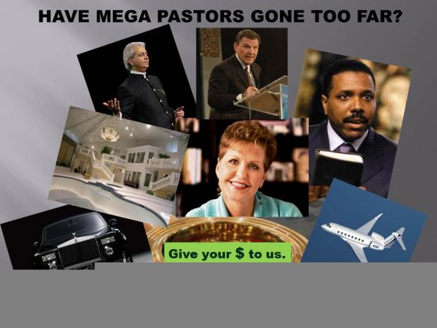 Have mega preachers gone to far? | ColumbusFreePress.com