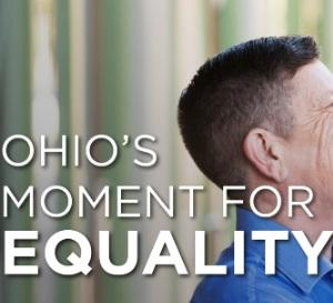 "Words ""Ohio's moment for equality"""