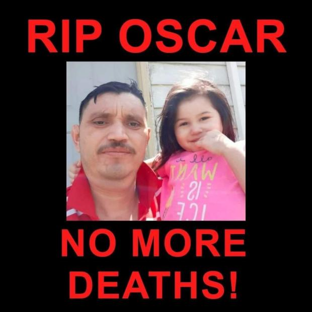Oscar and his daughter