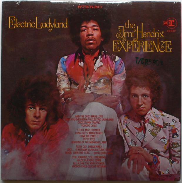Jimi Hendrx album cover
