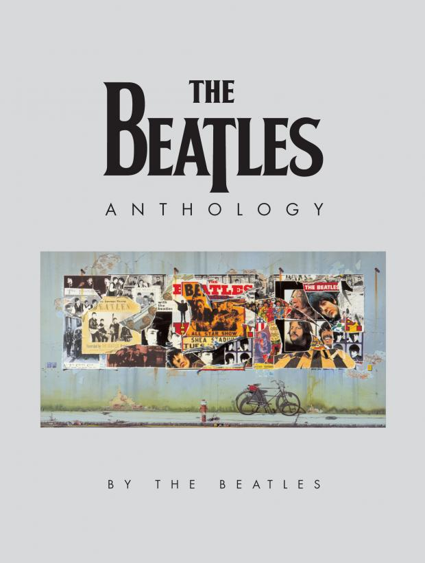 Cover o Beatles Anthology album