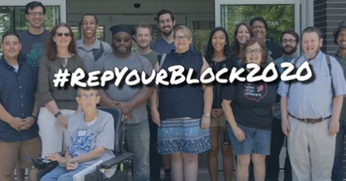 People posing and words Repyourblock2020