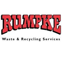 Red letters Rumpke and Waste & Recycling Services