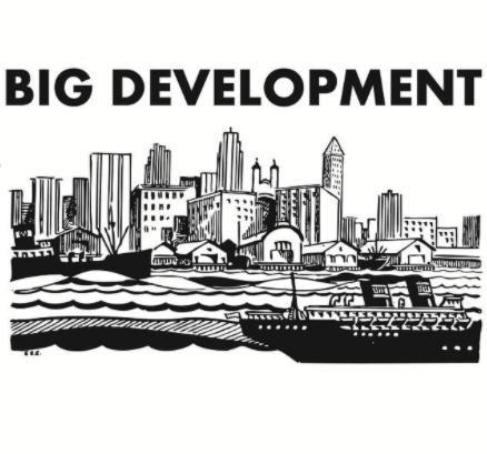 Buildings and words Big Development
