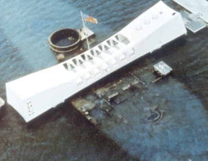 Ship in Pearl Harbor