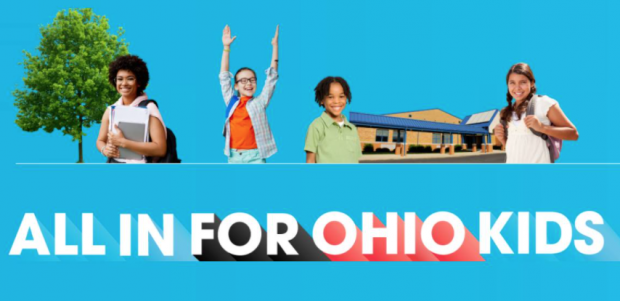 All in for Ohio's Kids and pictures of kids