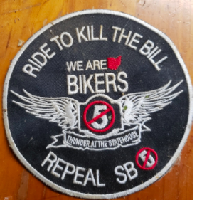 Ride to Kill the Bill patch