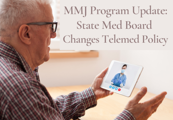 Older man connecting to TeleMed