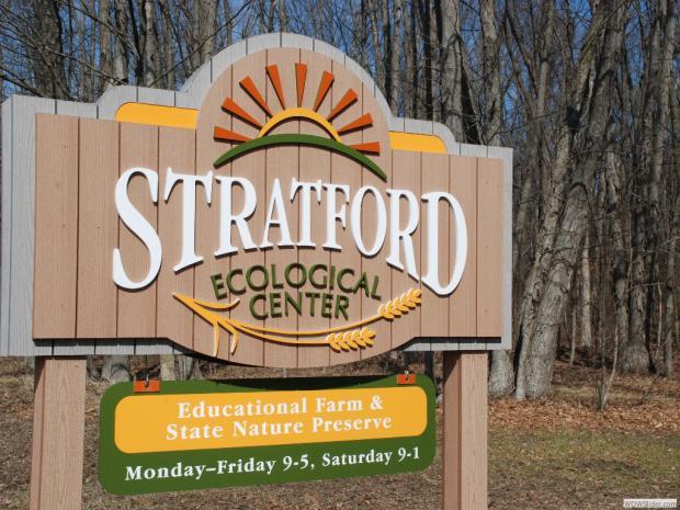 Stratford Ecological Center sign