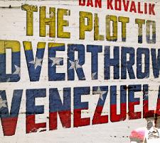 The words The Plot to Overthrow Venezuela