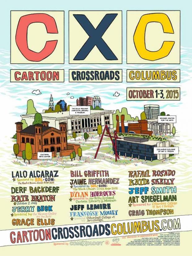 Cartoon Crossroads poster