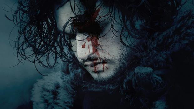 John Snow with blood