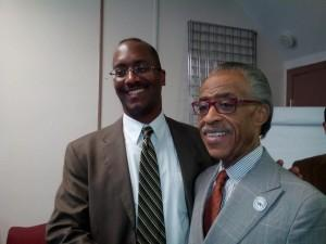 Jon Beard and Al Sharpton