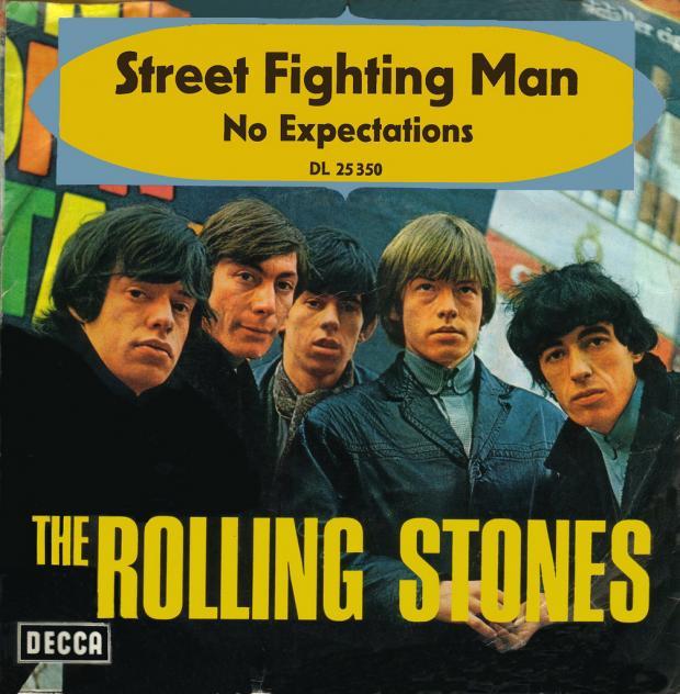 Rolling Stones cover of album