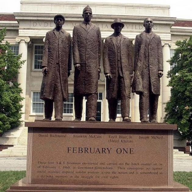 Statue of Greensboro 4