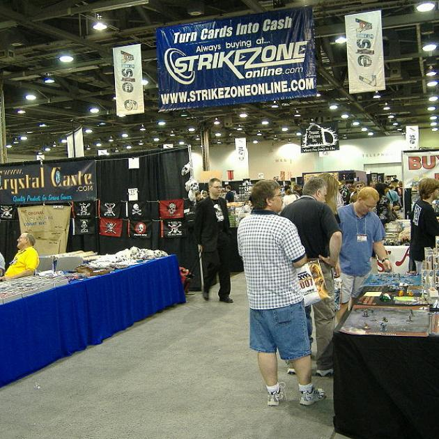 Origins exhibitor hall