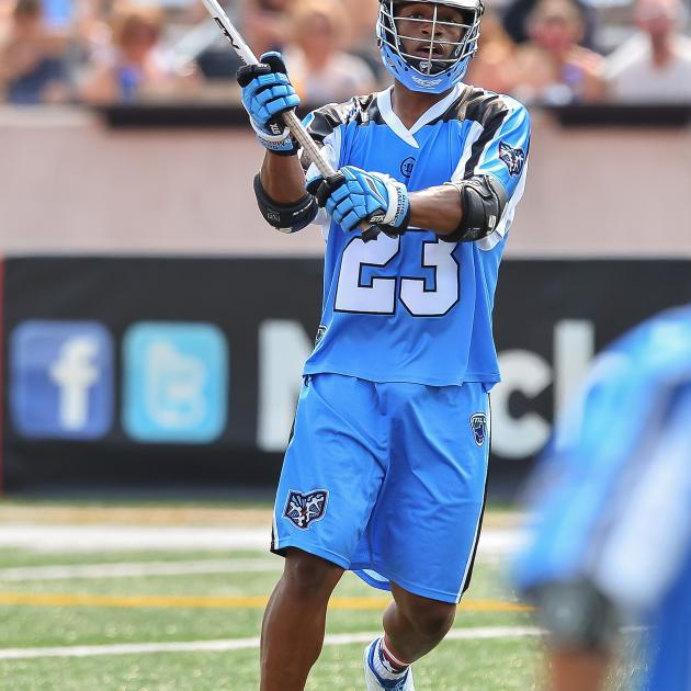 Photo of lacrosse player
