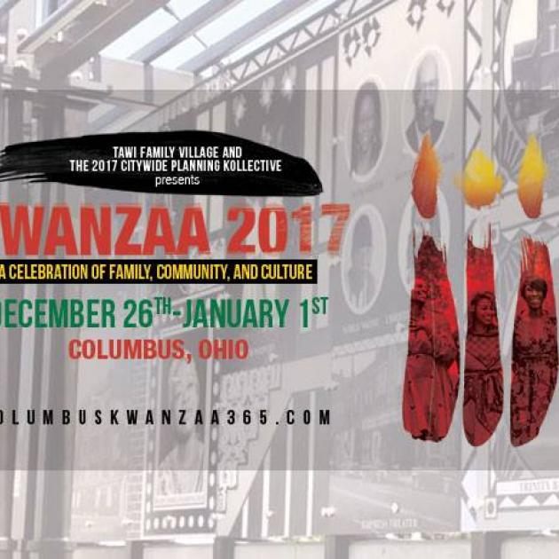 Info about Kwanzaa event