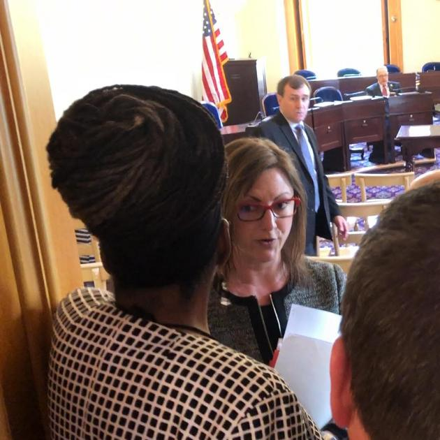 Rep Kennedy Kent Barred From Meeting By Democratic Minority Caucus Legal Counsel Sarah Cherry