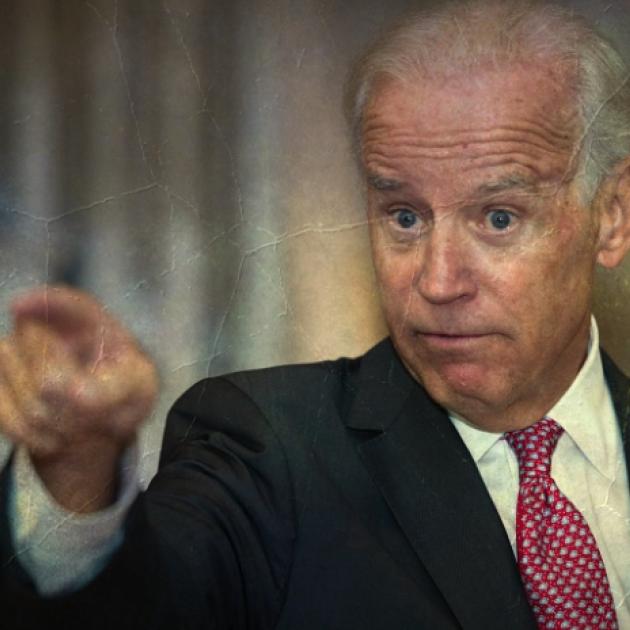 Biden pointing