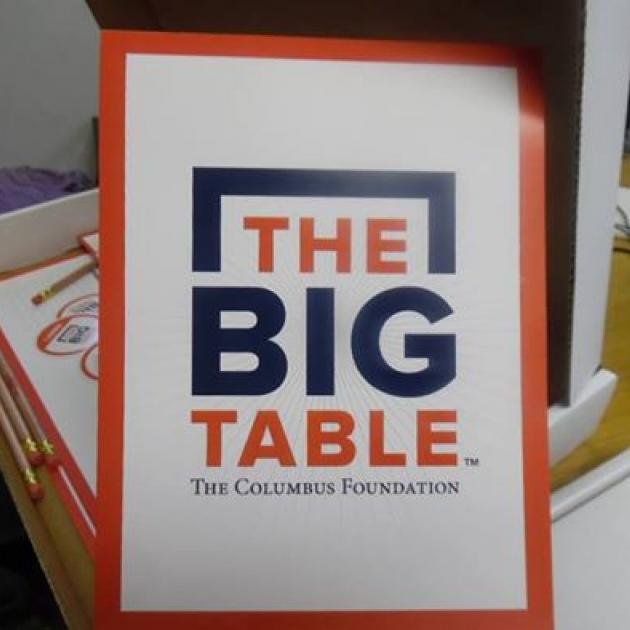 The words The Big Table