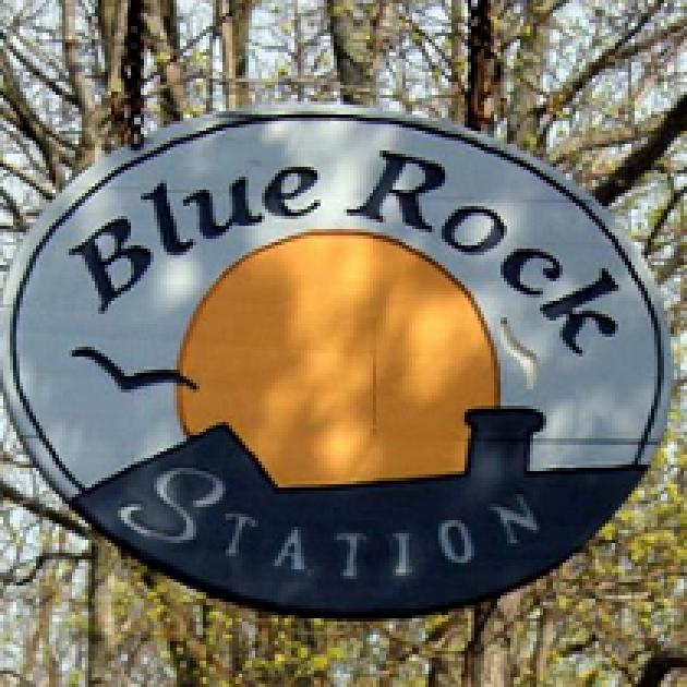 Big Rock Station sign
