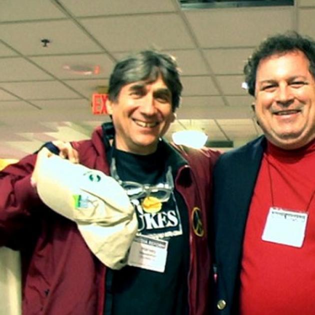 Photo of Bob Fitrakis and Harvey Wasserman