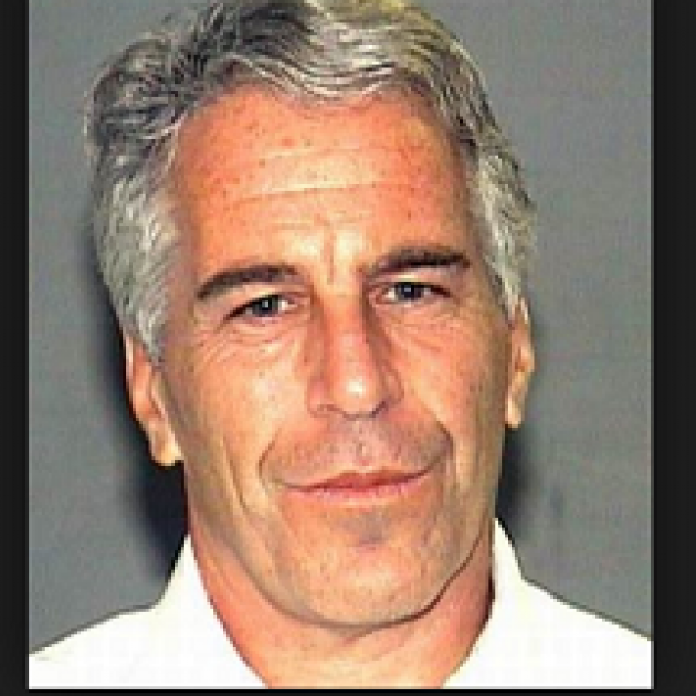 Gray haired white man with long face, black eyebrows looking worried