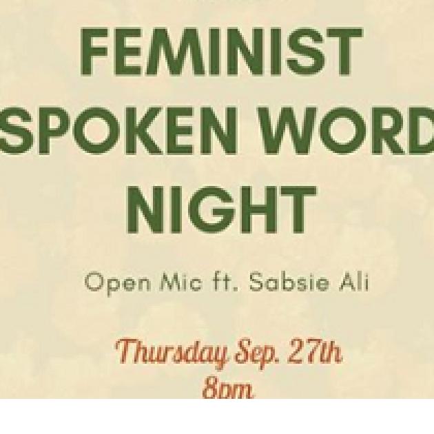 Words Feminist Spoken word night