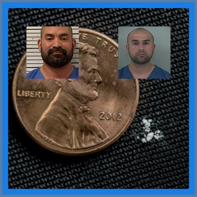 Photos of cops and a penny
