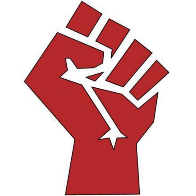 Big red fist