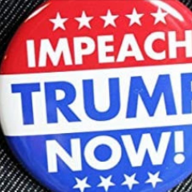 Impeach Trump Now button