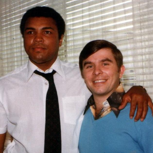 Muhammed Ali and Michael Alwood