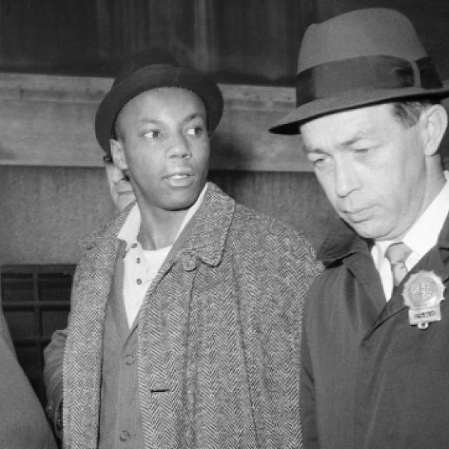 Two black men in hats