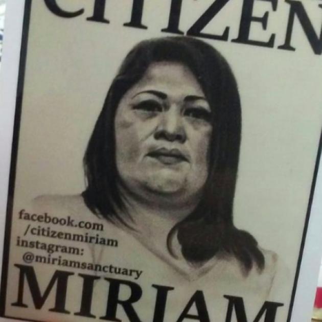 Miriam Vargas and words Citizen Miriam