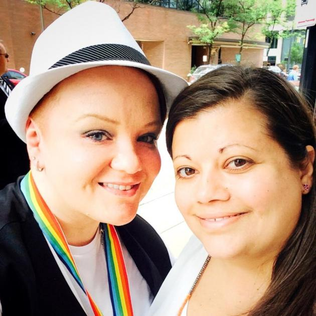 Jenn Moffitt (left) and Jerra Knicely (right)