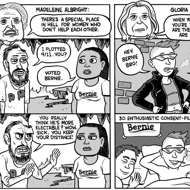 Bernie Sanders comic