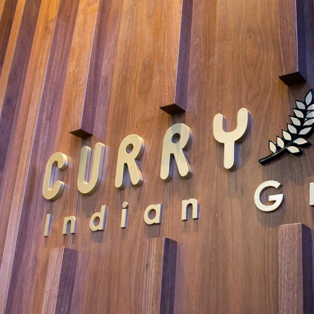Curry Up sign
