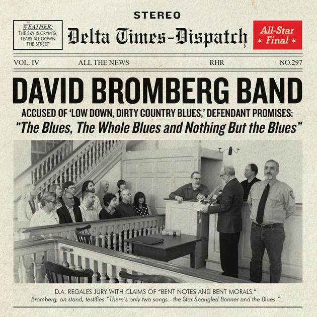 Newspaper about David Bromberg Band