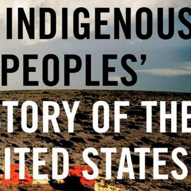 The words Indigenous people's history of the United States