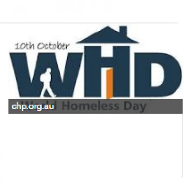 world homeless day logo